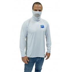 Camisa Lycra com gola Pesca...